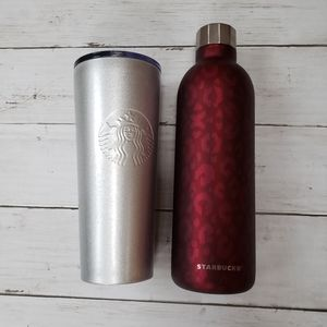 Pre Owned Starbucks Tumbler & Bottle